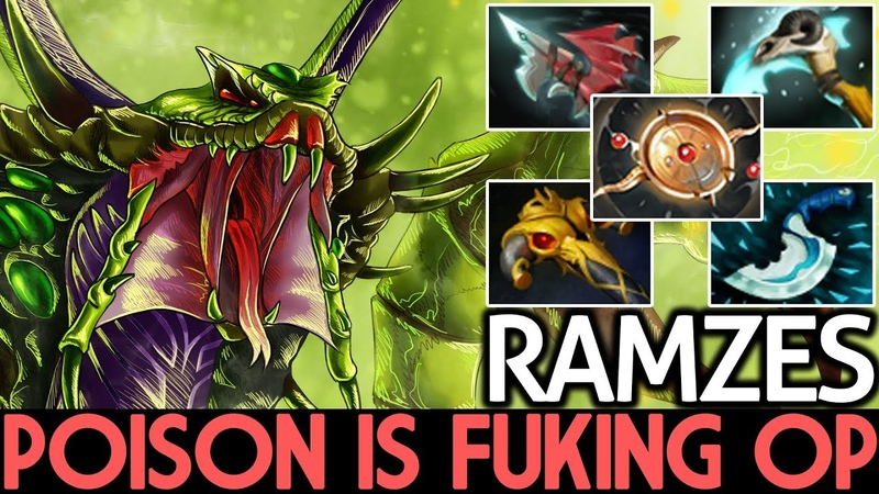 Ramzes [Venomancer] Poison Damage is Fuking OP 7.17 Dota 2