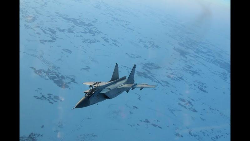 Эскадрилья МиГ-31 из Перми перебазирована под Астрахань для проведения учений