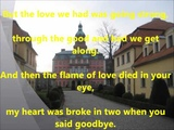 The Last Waltz lyrics - Engelbert Humperdinck