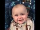 Одно из моих любимых видео Удивительная реакция малыша на мамино пение blush kissing heart heart eyes 360 X 360 mp4