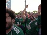 Вся гамма эмоций болельщиков сборной Мексики в Екатеринбурге