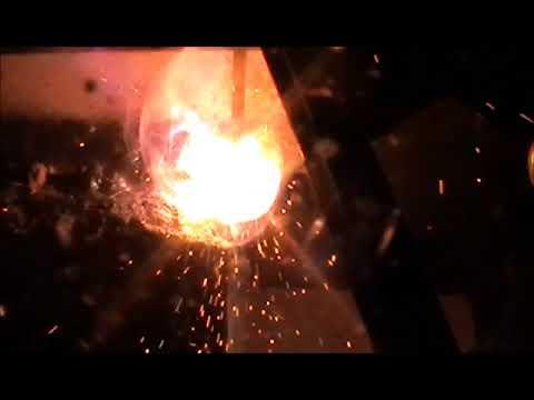 Резка металла сварочным конденсатором