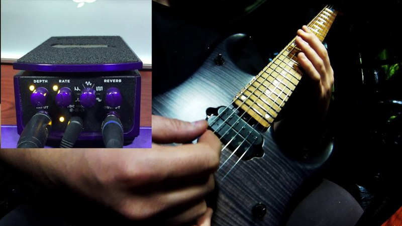 Ernie Ball Tremolo pedal demo
