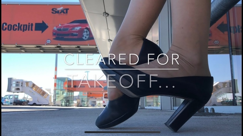 "Teaser For Patreon Full Version Of ""Cleared For Takeoff... 15min Shoeplay"