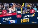 НБА-2018/19. РЧ. Индиана - Филадельфия (НА РУССКОМ)