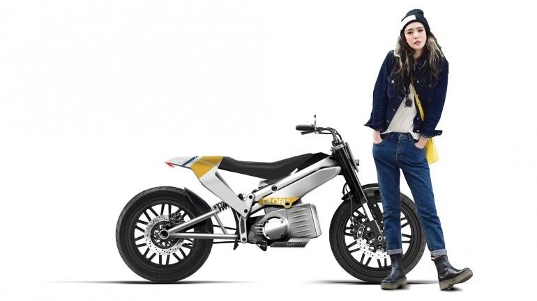 Электроцикл Jambon-Beurre Gloria