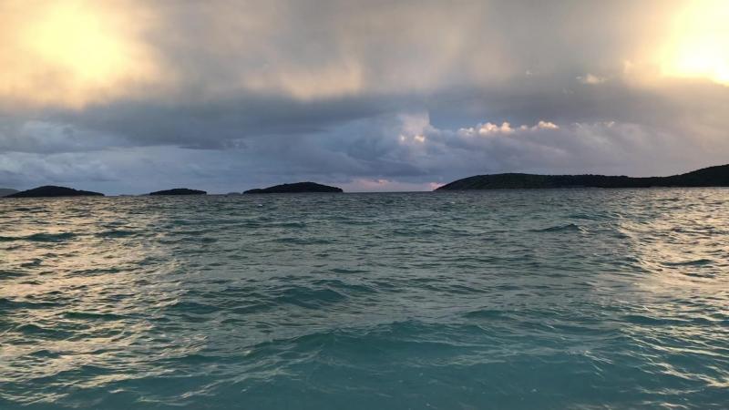 Адриатическое море. Вечер