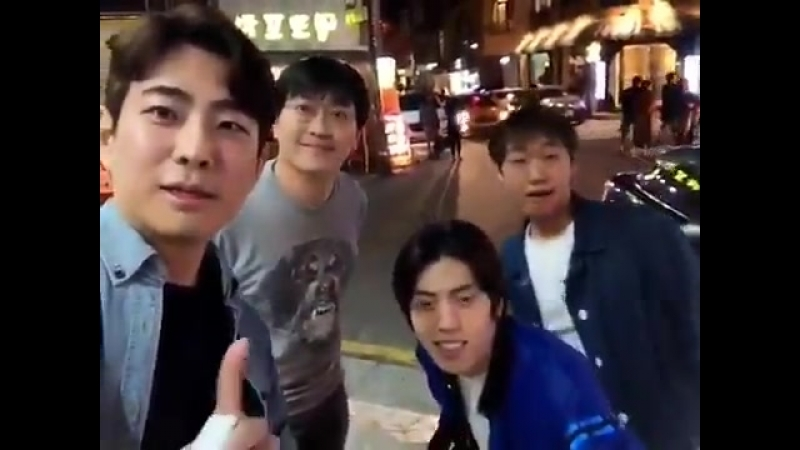[VIDEO] 180412 Michael.l.hs instagram update with 인피니트 Dongwoo - - ️
