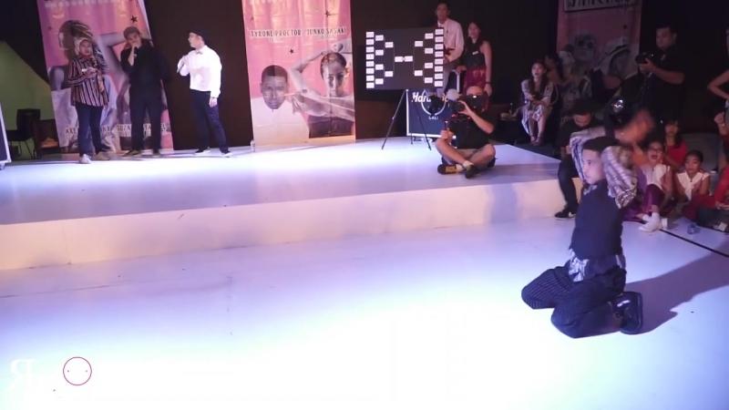Chihiro (JPN) vs Danzel (INA) _ Top8 _ AAWF 2018 Grand Finals Bali, Indonesia by Etoile Dance