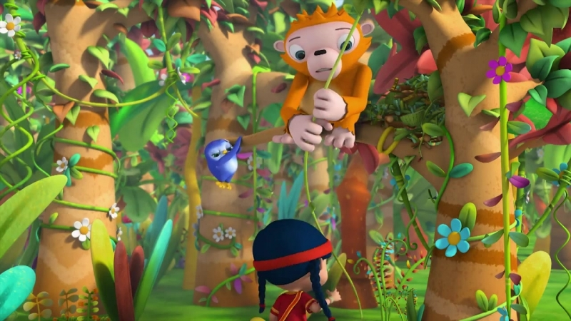 Уборка у орангутанга - Виспер
