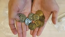 Распаковка Unboxing Виноделие: металлические монеты Viticulture Metal Lira Coins