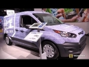 2018 Ford Transit Connect Van XL LWB - Exterior and Interior Wakaround - 2018 Detroit Auto Show