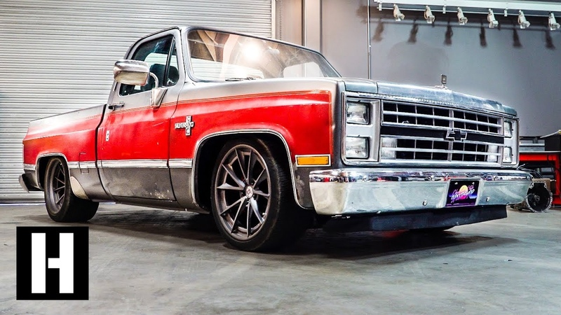 Ultimate Squarebody Street Truck? 600 hp Supercharged LS '86 Silverado That Handles, Too.