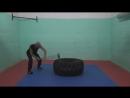 Тренировка с кувалдой.mp4