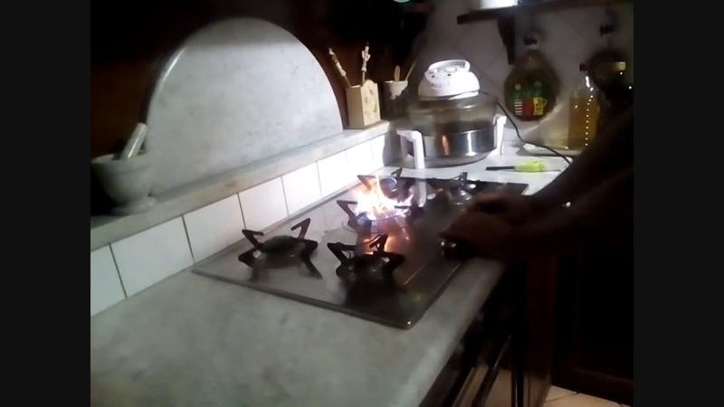 Not at the Dishes But At Gas Kitchen Non Piu' Ai Piatti Ma Ai Fornelli a Gas