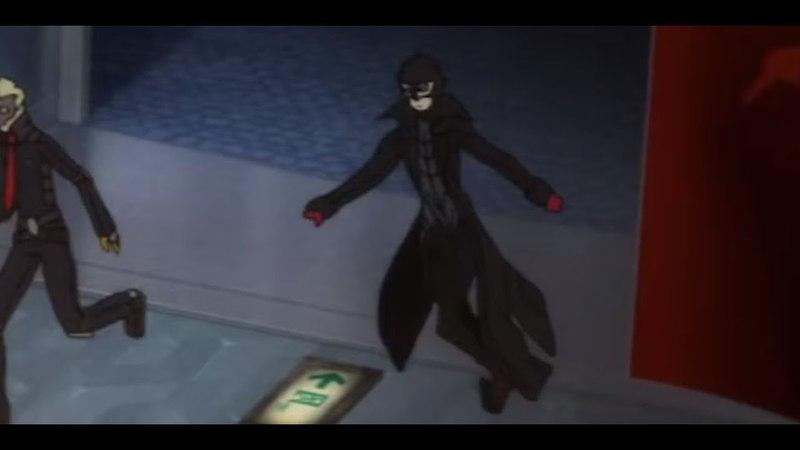 Joker hits the T pose