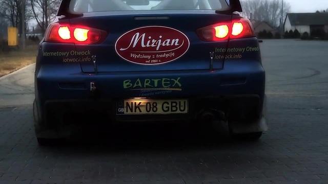Mitsubishi EVO X FLAME