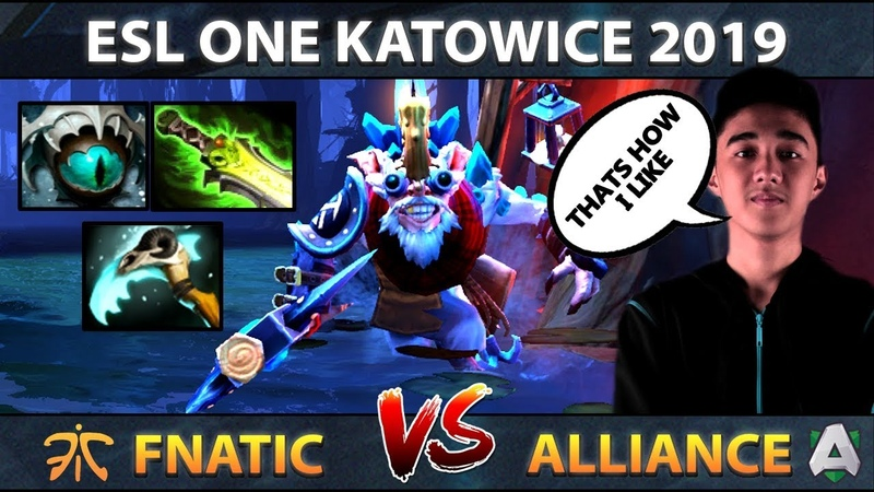 Abed Back to Meepo on ESL One Katowice - World's Best Meepo Player - Fnatic vs Alliance - Dota 2