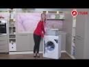 Видеообзор стиральной машины Hotpoint Ariston VMSL 501 B с экспертом М Видео