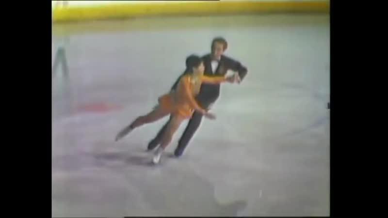 Irina Rodnina _u0026 Alexei Ulanov - 1969 World Figure Skating Championships LP