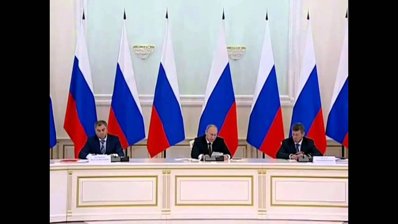 Россия настроена на мигрантов © Путин