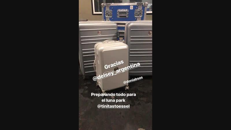 """Preparations for """"TINI Quiero Volver TOUR"""""""