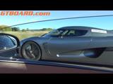 Bugatti Veyron Vitesse TROLLED HARD by Koenigsegg Agera R NEW angles + Carrera GT bonus!