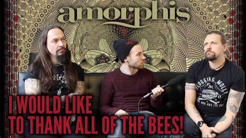 Amorphis' Esa Holopainen and Tomi Joutsen Talk Queen of Time