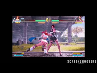 Fight angel - female character fighting game - angespielt - deutsch_german