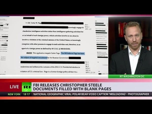 FBI PAID TRUMP-RUSSIA DOSSIER AUTHOR CHRISTOPHER STEELE, HEAVILY REDACTED DOCS SHOW.