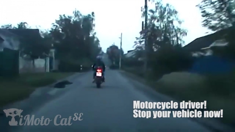 Motorcycle Police chase with funny final _ Cops vs bikers _ iMotoCat