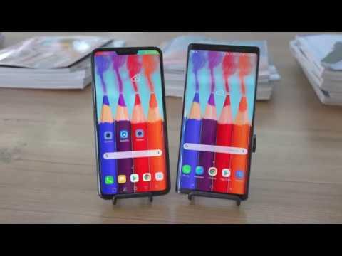 LG V40 vs 삼성 Note 9 한국 스마트폰 최강자는