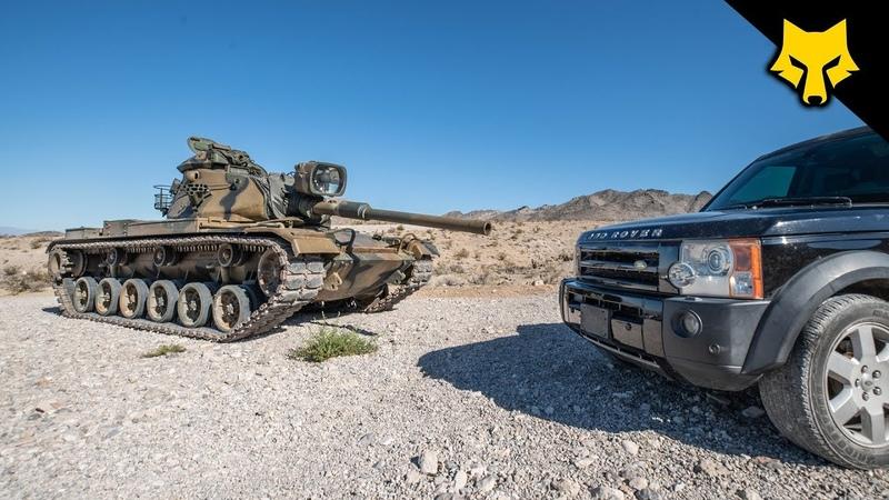 Tank Round vs Land Rover 😳