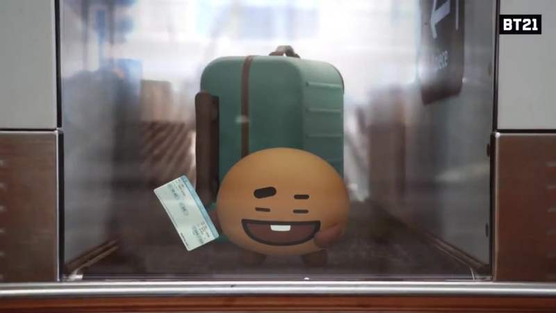 Catch me if you can! - Prankster SHOOKY Prank Find BT21 at IncheonAirport.mp4