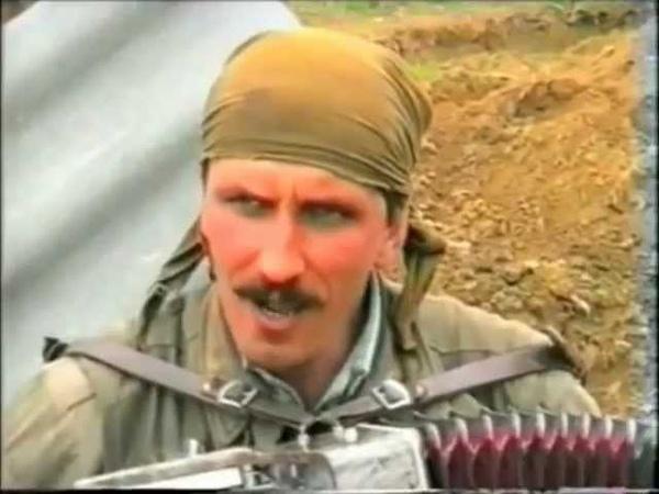 Козаки ополчеці у Чечні avi