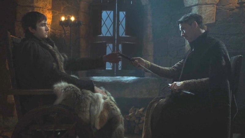 Bran Stark con Meñique y Meera Reed Juego de Tronos Español HD