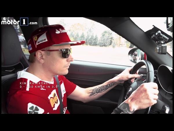 Vettel y Raikkonen, a los mandos del Alfa Giulia QV