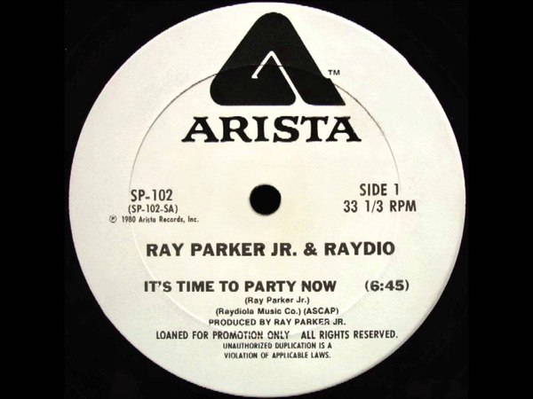 Ray Parker Jr Raydio - Its Time To Party Now (Dj S Bootleg Extended Dance Re-Mix)