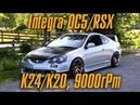 Почему нужно строить Honda Integra DC5/Acura RSX на гибриде K24/K20. 9000 оборотов! BMIRussian