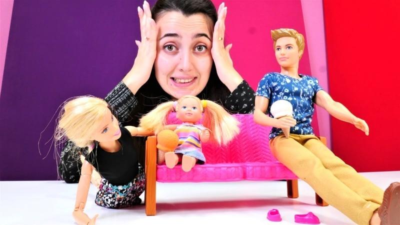 Sevcan ile Barbie oyunları. Steffie kayboluyor