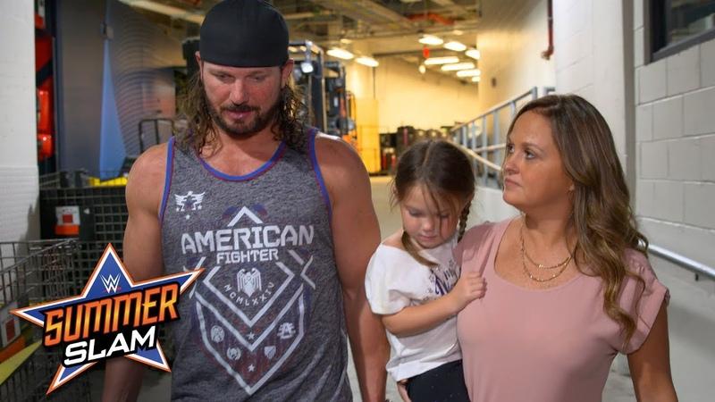 AJ Styles apologizes to his family for losing his cool vs. Samoa Joe Exclusive, Aug. 19, 2018