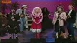 Linda Ronstadt, Dolly Parton, Emmylou Harris live on stage (Trio I)