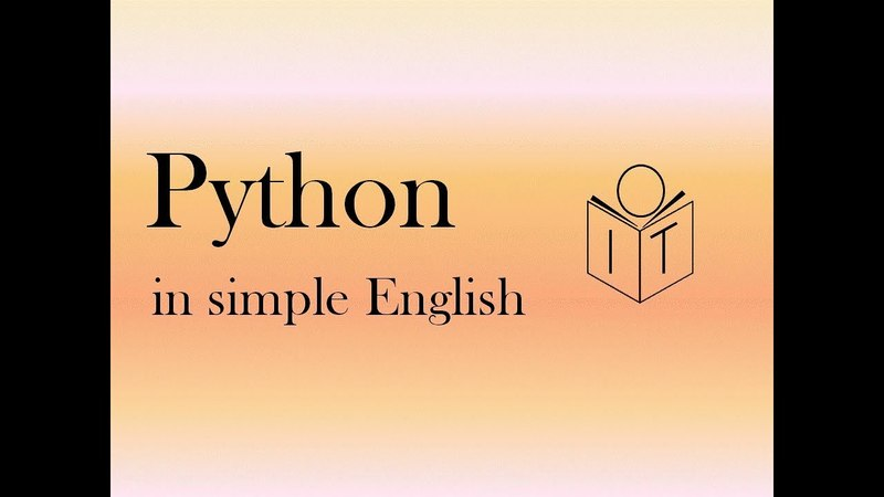 Python if statements in simple English 2018