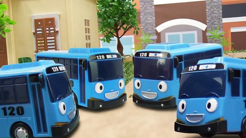 Клоны автобуса Тайо. Видео на английском языке.