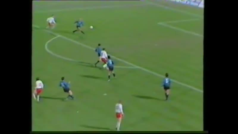 Кубок УЕФА 1988/89. 1/8 финала. Ответный матч. «Интер» /Италия/ - «Бавария» /ФРГ/ (07.12.1988)