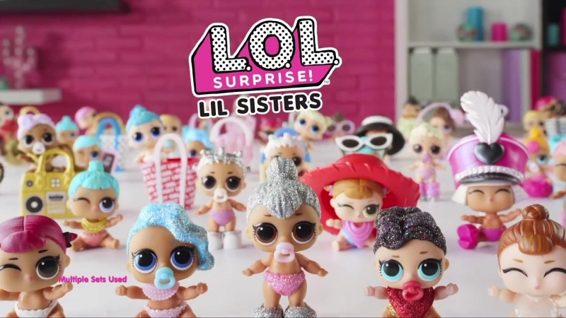 LOL Surprise! - Series 2 Dolls- Tots Lil Sisters