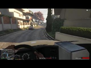 [Spotman] GTA 5 - ВОЗИМ ШКОЛЬНИКОВ (Реальная жизнь RP #10)