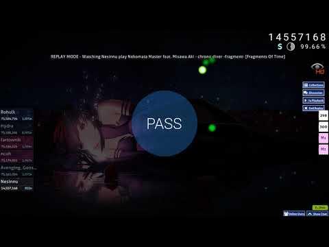 Nekomata Master feat. Misawa Aki - chrono diver -fragment- [Fragments Of Time] HD