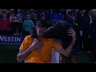 From one champion to another. - - These are the moments we love to see... - - USOpen