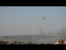 Пожар в Анапе Вид из нашего окна